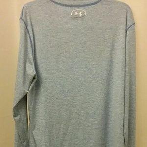 UNDER ARMOUR COLD GEAR LIGHT BLUE L/SLEEVE Shirt